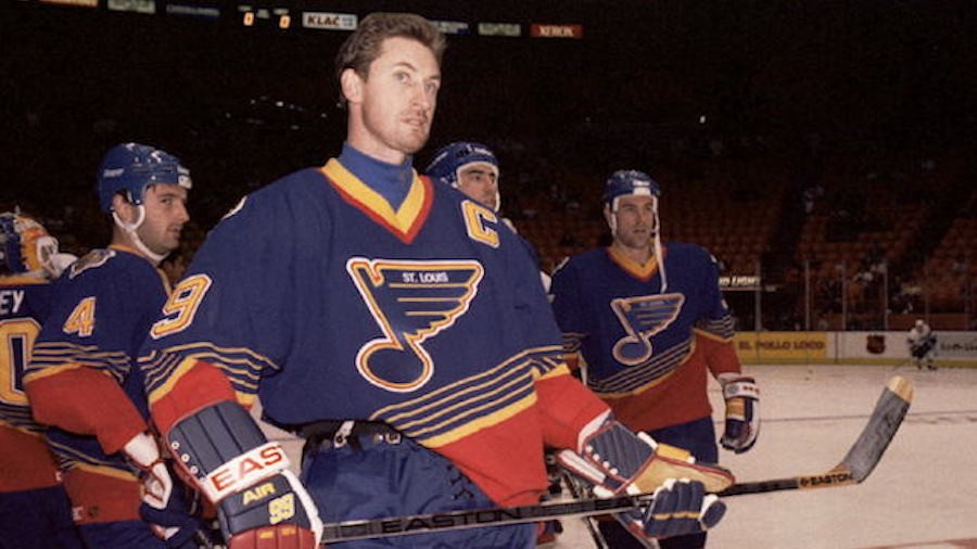 Five Stages of the Trade That Sent Wayne Gretzky to St. Louis