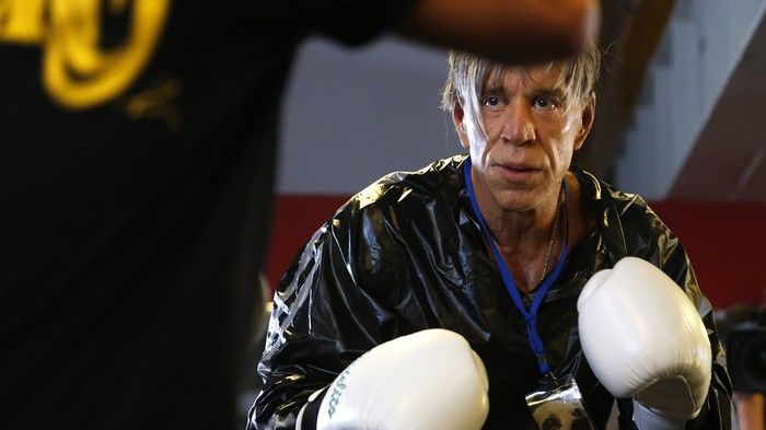 Oh Great, Mickey Rourke Wants to Box in Russia Again