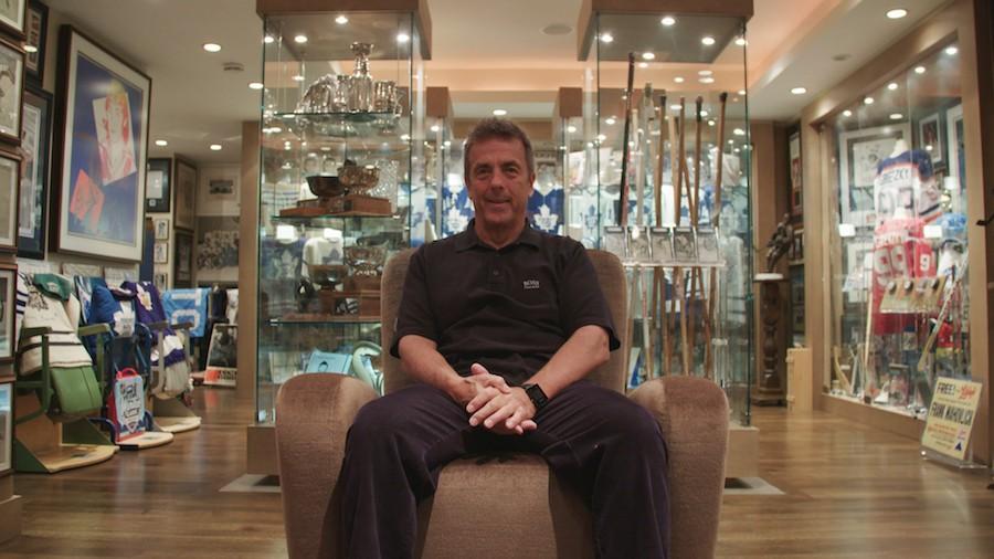 Meet the Toronto Man Who Has a Hall of Fame Basement of Hockey Memorabilia