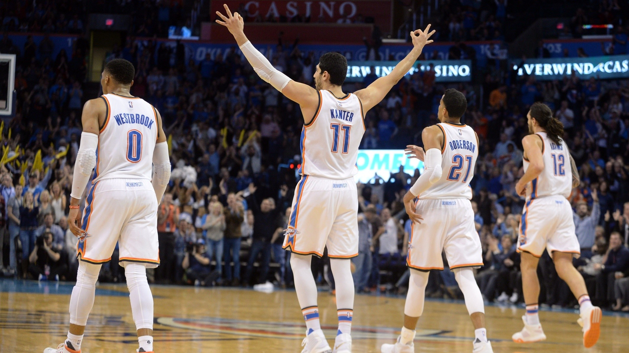 Russell Westbrook Is A One-Man Show, But The Thunder Are A Team