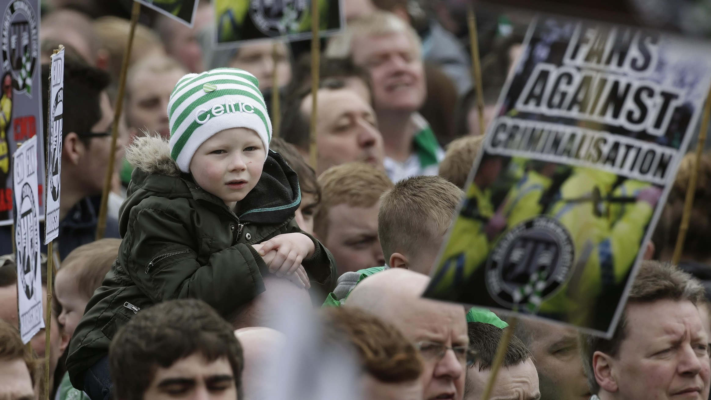 How Scottish Soccer Fans Became the National Party's Most Effective Opposition