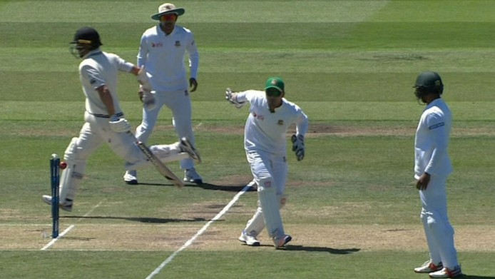 Unlucky Kiwi Neil Wagner Given Out, In Most Bizarre Runout You'll Ever See