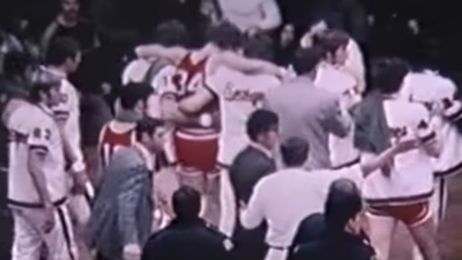 Throwback Thursday College Basketball s Most Brutal Brawl and