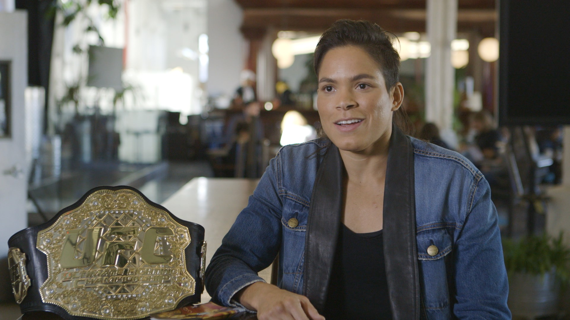 Amanda Nunes on KO'ing Ronda Rousey and Creating Her Own Shine