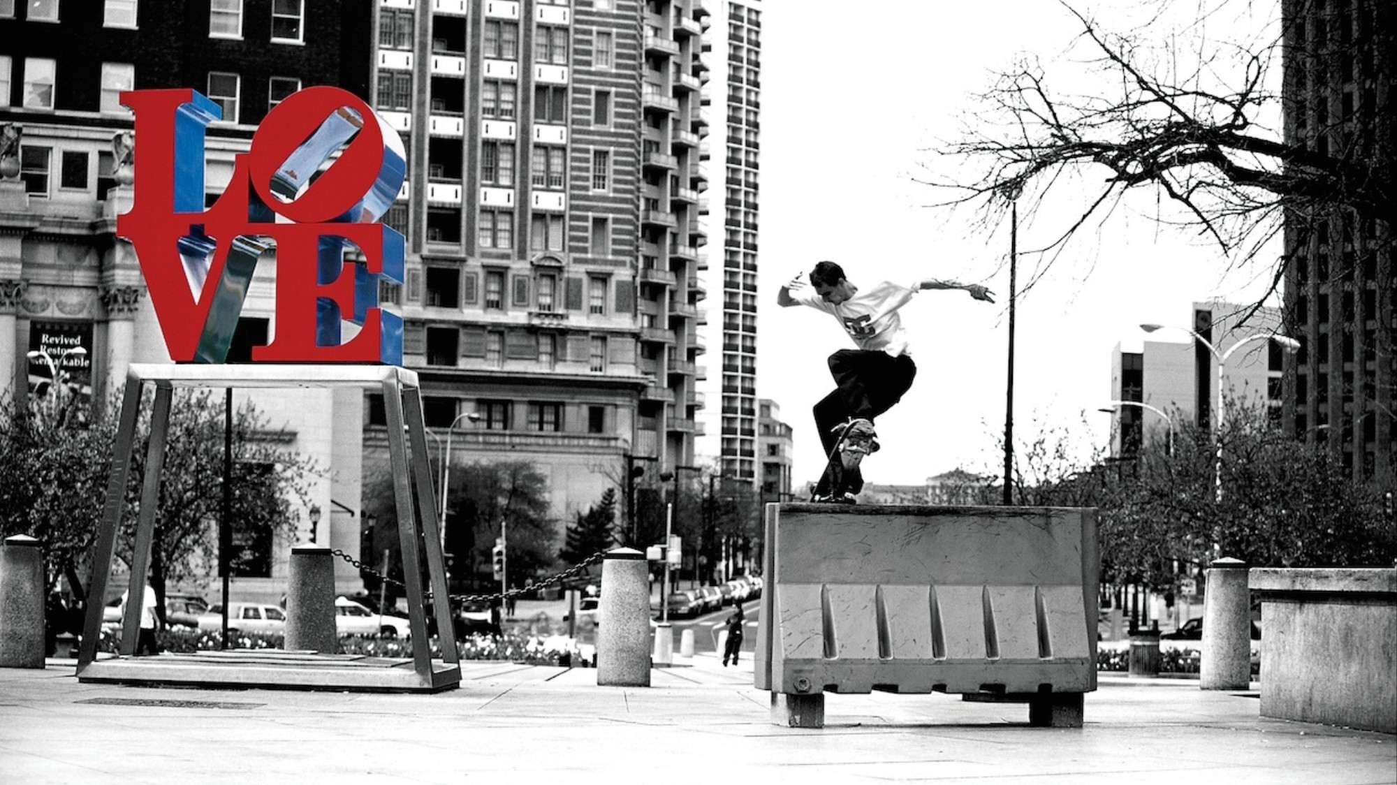 Josh Kalis NoseBlunt LOVE Park by Blabac Photo