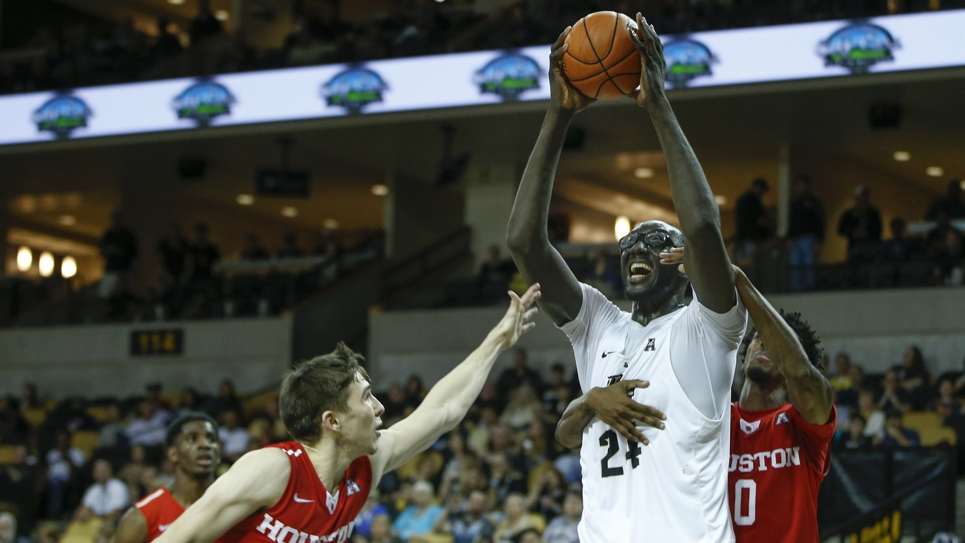 Can UCF's Seven-Foot-Six Giant Tacko Fall Develop into an Offensive Force?