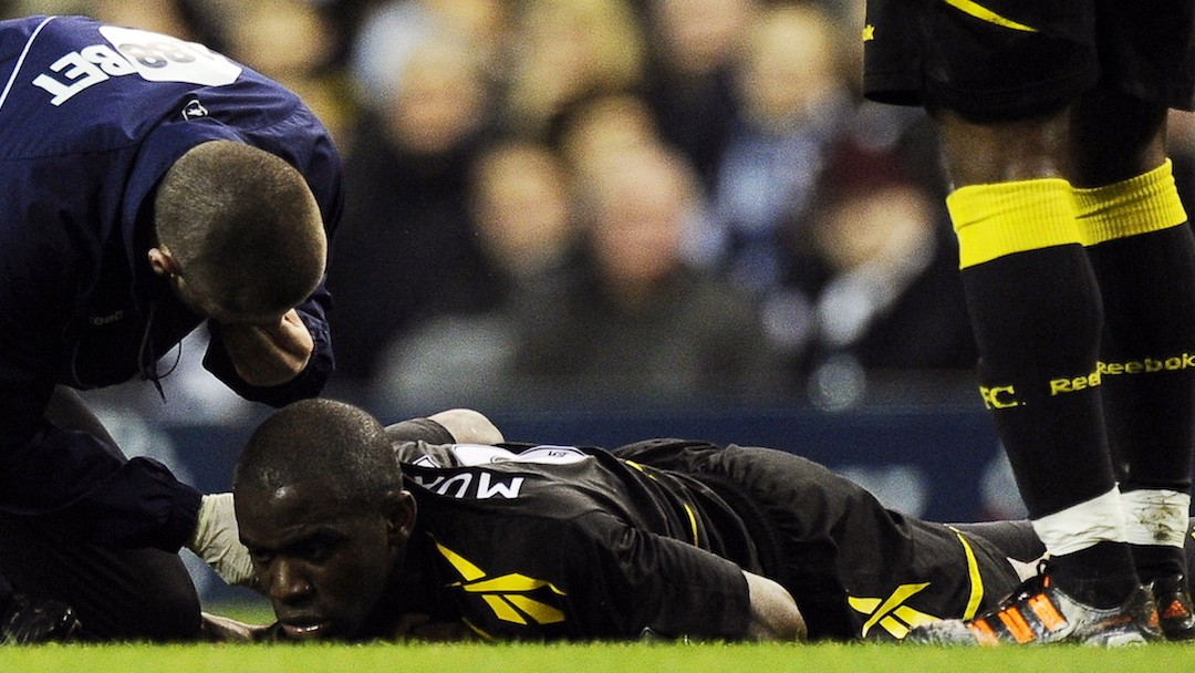 Remembering How Bolton's Fabrice Muamba Came Back From The Dead