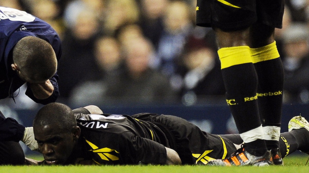 Image result for fabrice muamba heart attack