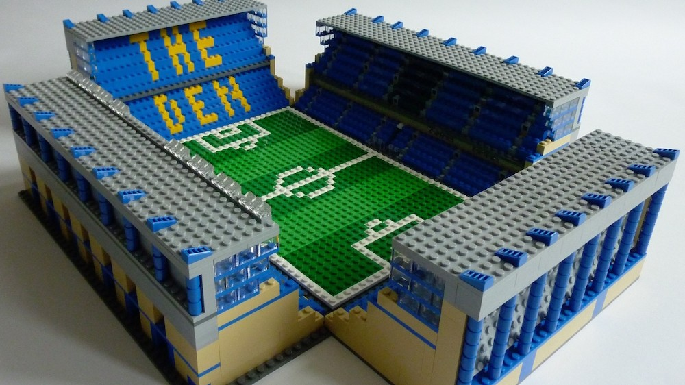 Meet 'Brickstand', The Man Making All Your Favorite Soccer Stadiums Out Of Lego