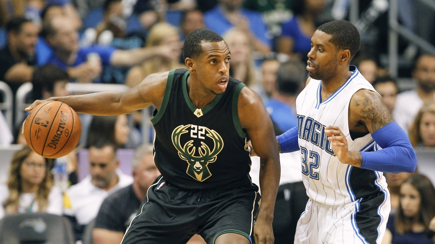 Khris Middleton Has the Bucks Slowing Down and Heating Up