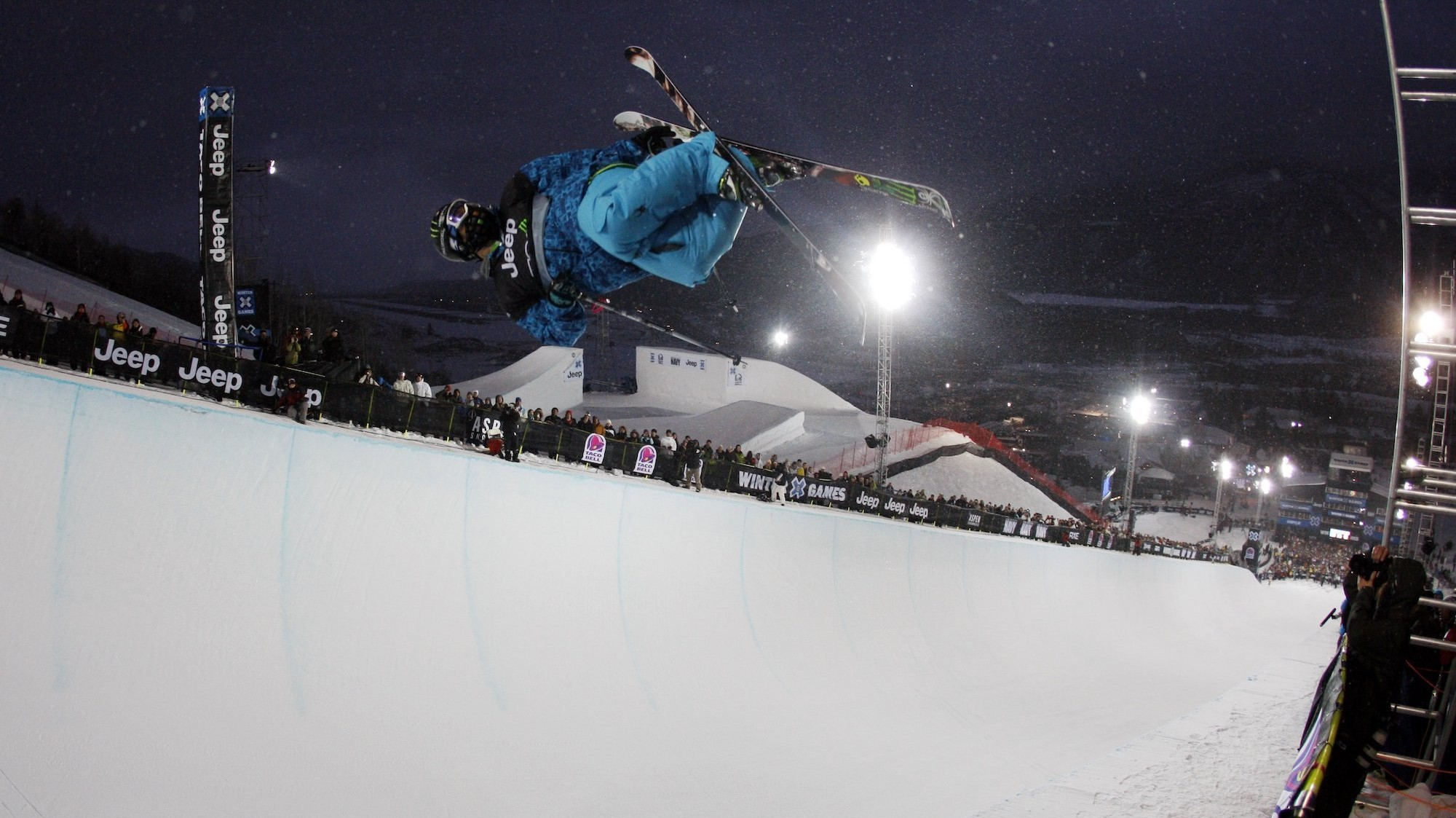 How the Winter X Games Course is Made
