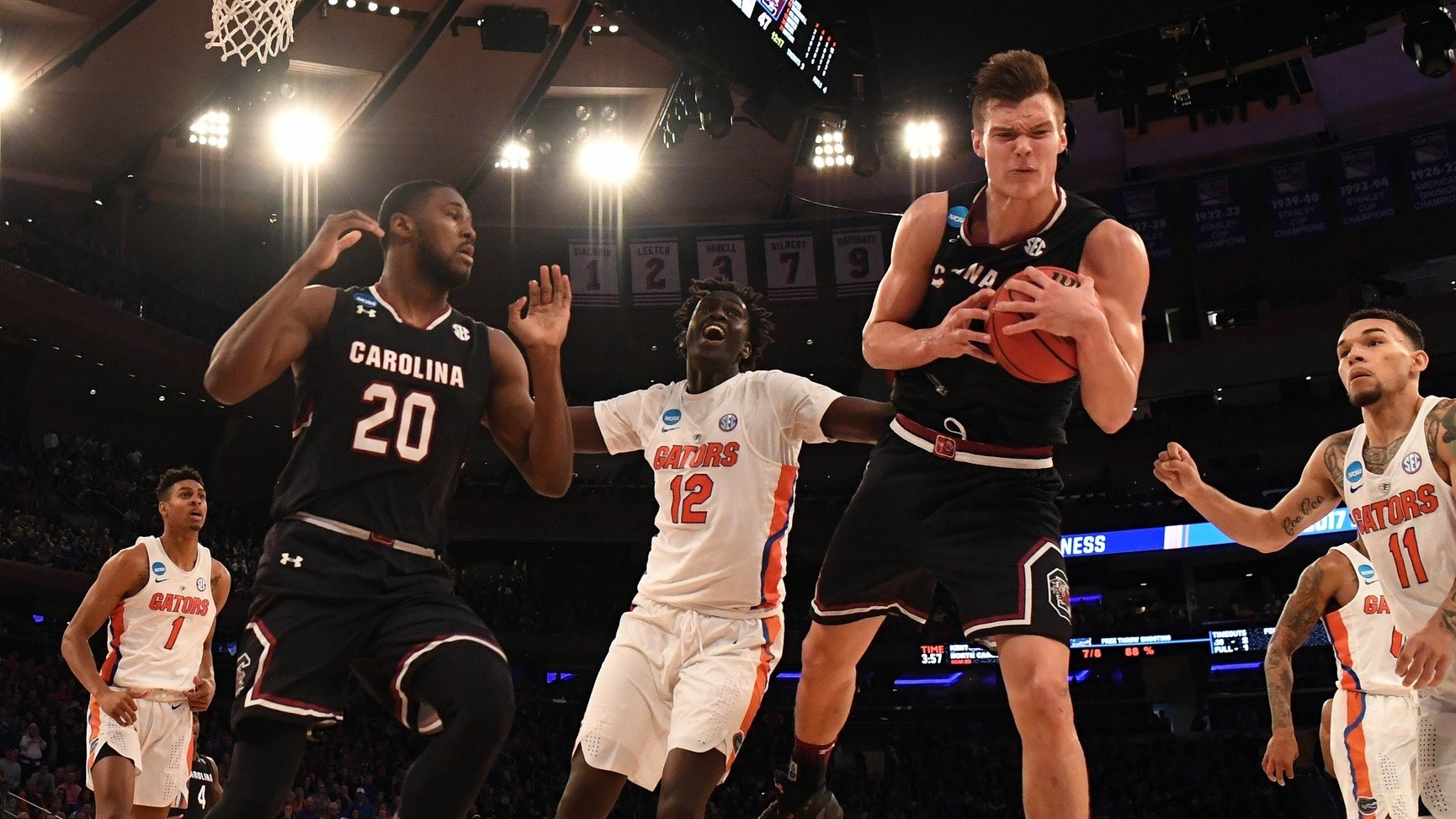 South Carolina's Maik Kotsar Is This Final Four's Most Unlikely Participant