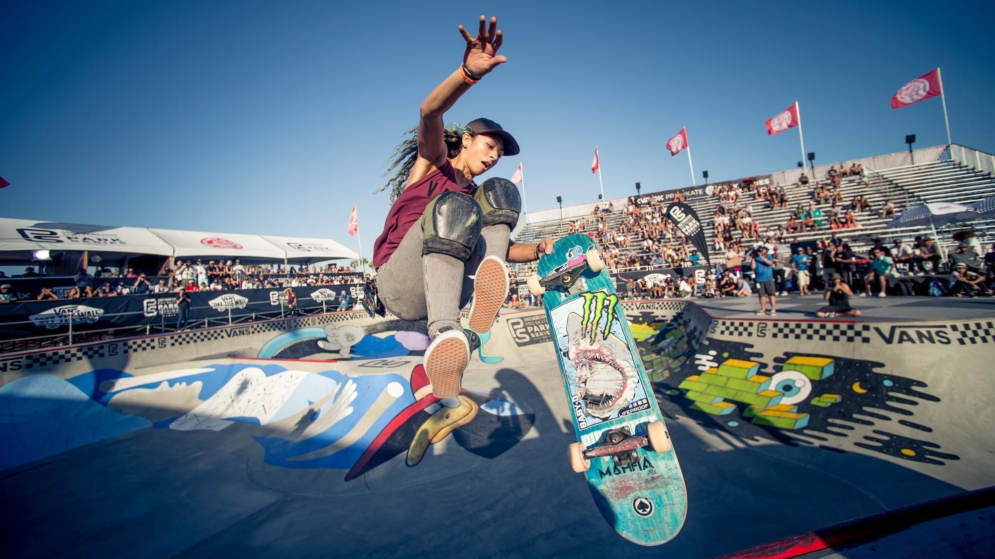 Female Skateboarders Still Striving For Even Footing With Male Peers