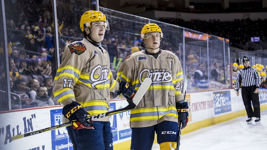 Erie Otters' Raddysh Brothers Embracing Final OHL Playoff Run Together