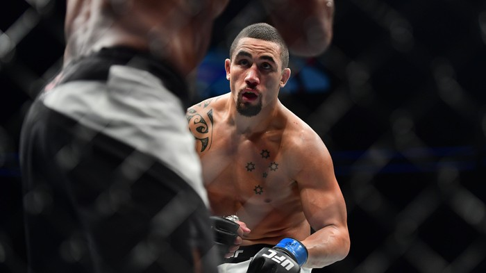 Whittaker versus Jacare: Pace Over Power