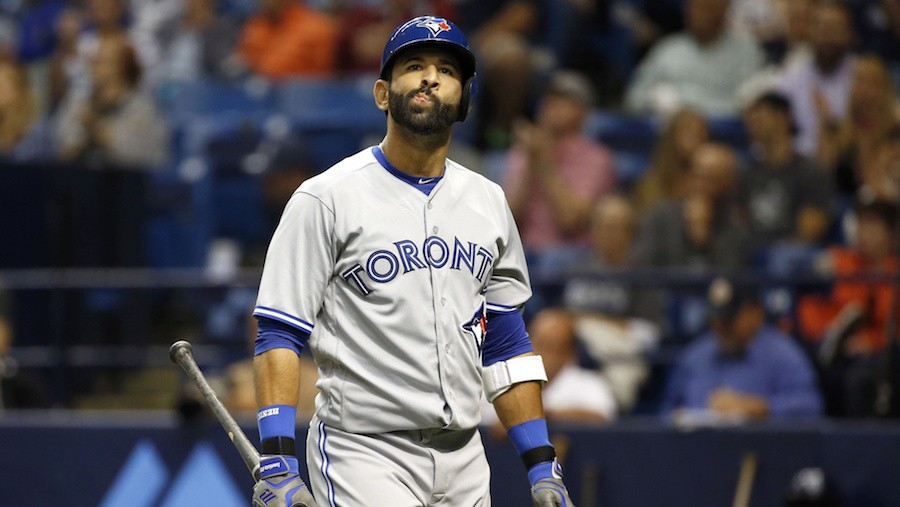 Jose Bautista Looks Lost at the Plate