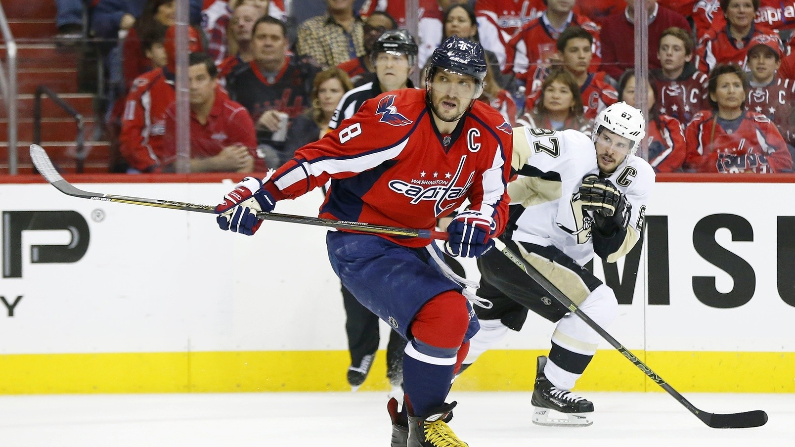 Watch Alex Ovechkin and Sidney Crosby Lock Horns While You Still Can