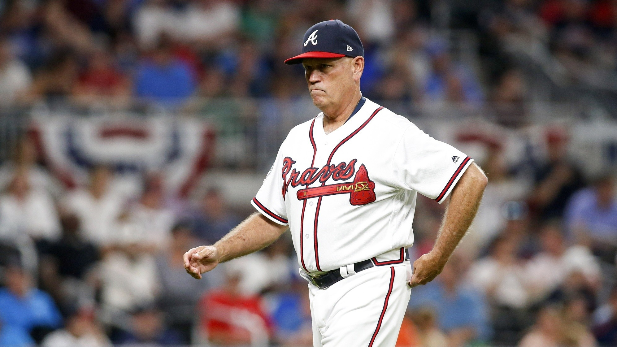 At 61, Braves Manager Brian Snitker Is the Oldest Rookie in Baseball