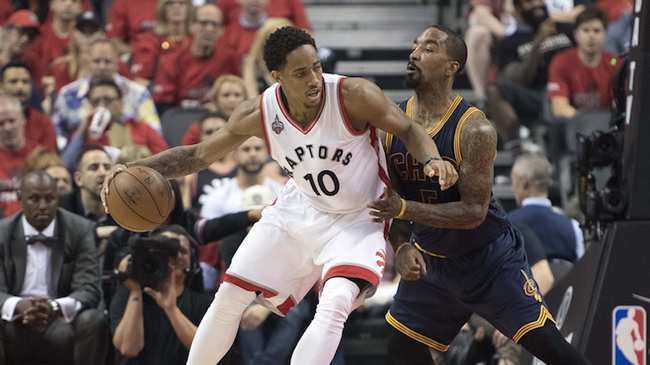 a381c4e2a95 How the Cavs Will Try to Contain Raptors  DeRozan