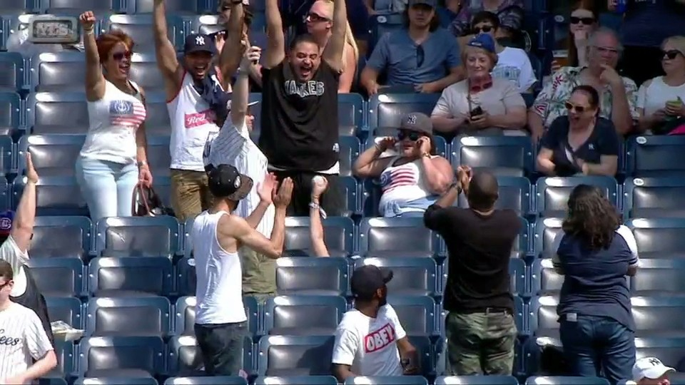 Fan Goes on Hilarious Life Journey for Home Run Ball