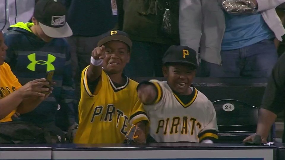 Andrew McCutchen Hands Kids Batting Gloves after Win, Kids Have Religious Experience