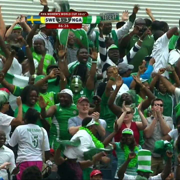 Nigeria Equalize in Final Minutes Against Sweden   VICE Sports