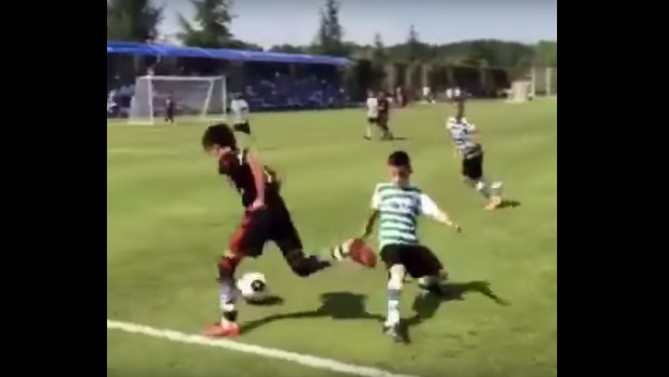 12 Year Old Turkish Player Might be the Future of Soccer