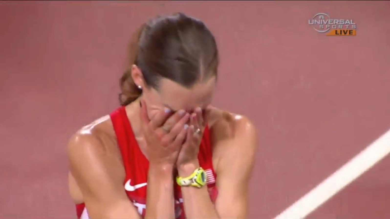 American Runner Learns Lesson: Never Celebrate Anything, Ever