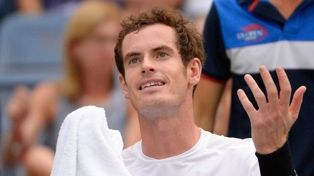 Andy Murray Will Donate £50 for Every Ace in 2015, Turns Out to Be Kind of a Cheapskate
