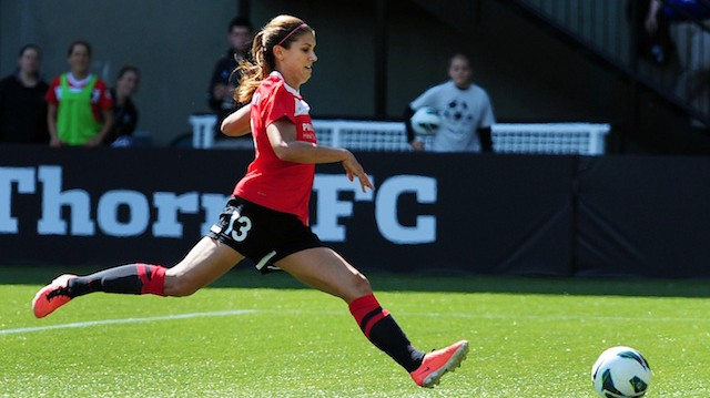 Alex Morgan Trades to New NWSL Expansion Team, Joins Husband in Orlando