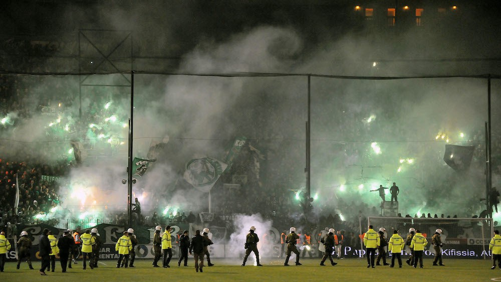 Panathinaikos vs. Olympiacos Match Suspended Amidst Violent Riots