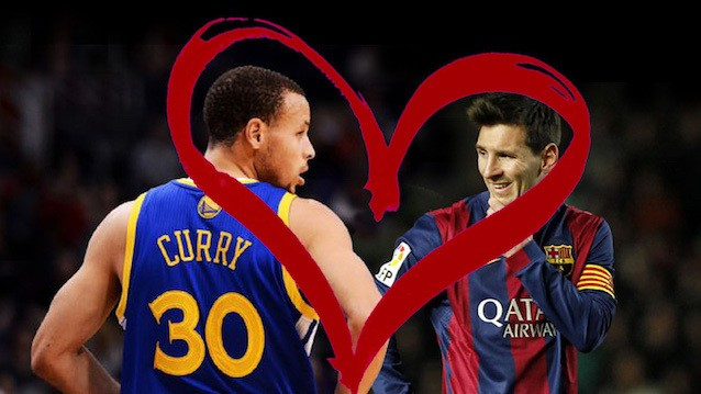 """Steph Curry Compares Himself to Messi in Worst Humble Brag Ever, is a """"Big Fan"""""""