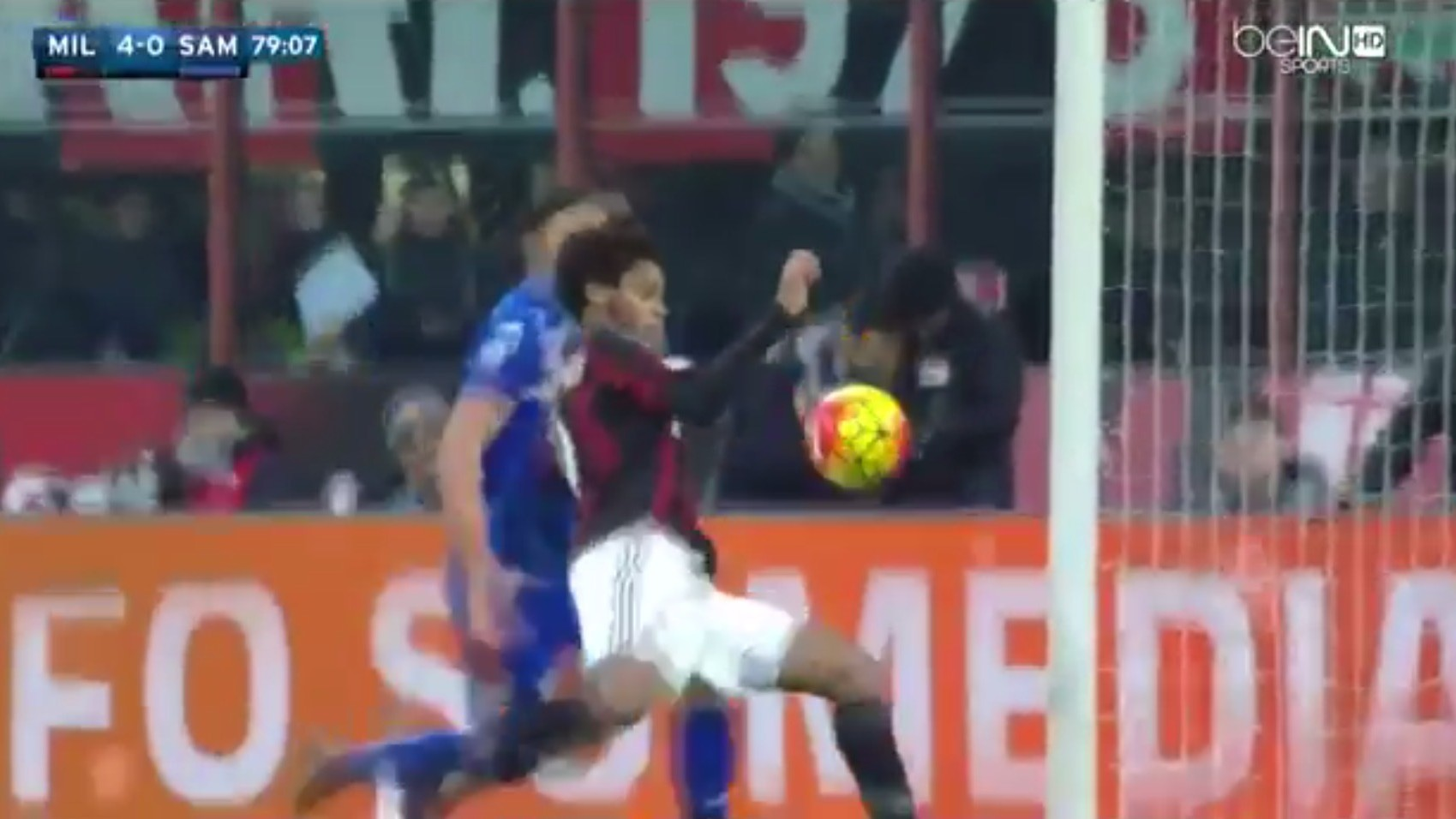Luiz Adriano Puts the Icing on A C Milan s Cake with a Mind