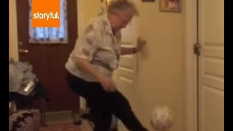 89-Year-Old Great-Grandmother Claims She Can Do 1,000 Keep-Ups