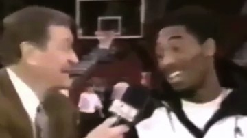 Here's Chick Hearn Telling Young Kobe He'd Play 19-20 Years for the Lakers
