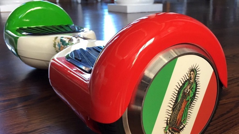 UFC Heavyweight Cain Velasquez Pimps His Hoverboard With Mexico-Themed Custom Job