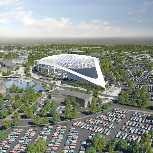 Die Los Angeles Rams Bekommen Das Teuerste Stadion Der Welt Vice Sports