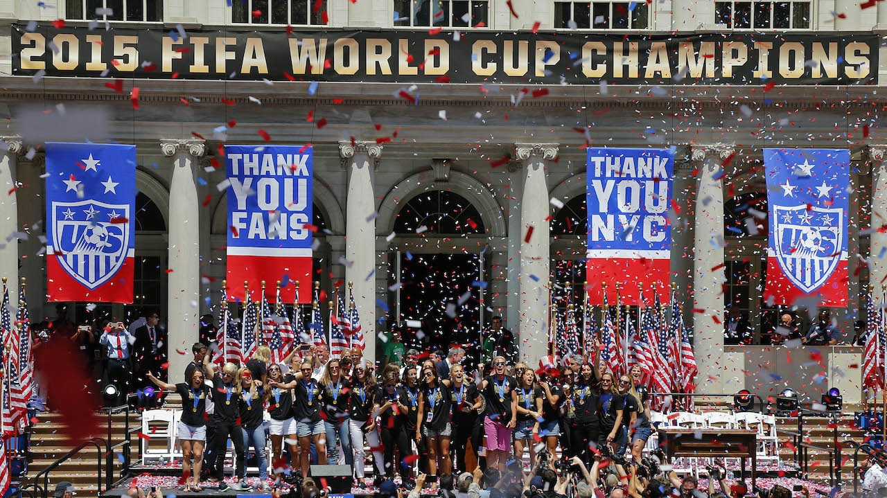 U.S. Soccer has Sued the Women's National Team