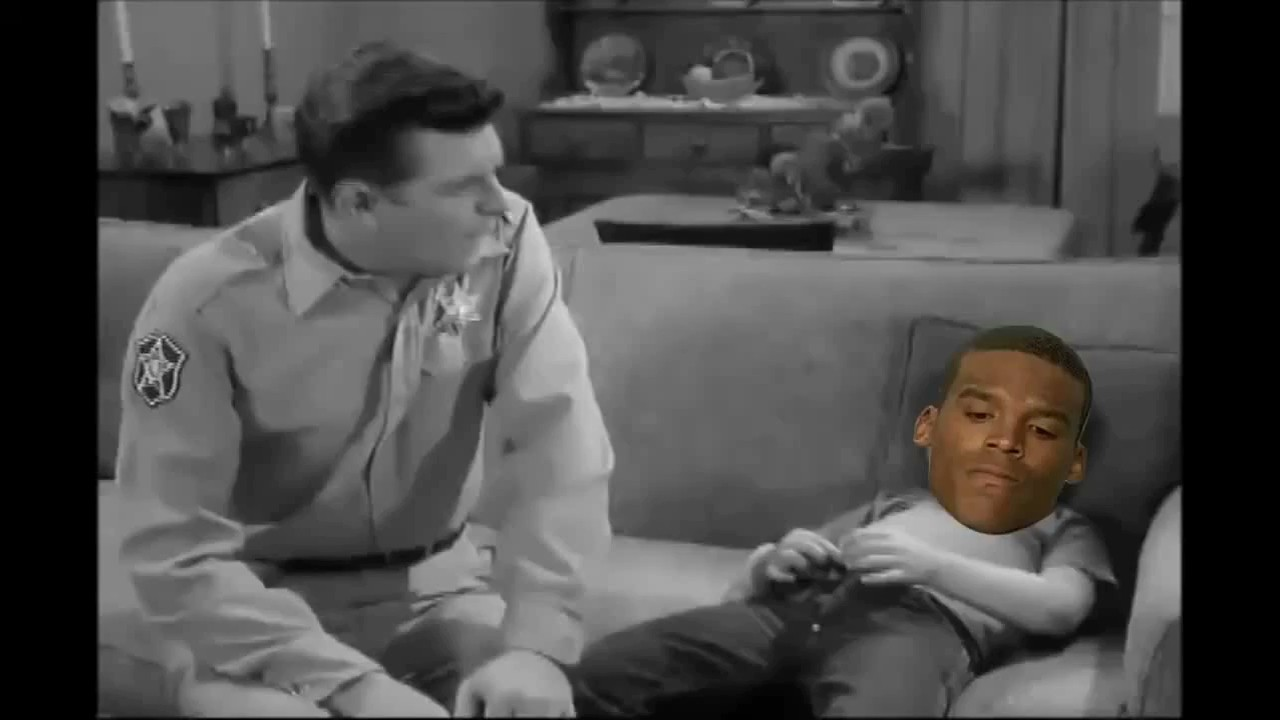 Watch Andy Griffith Scold Cam Newton and then Set the World on Fire