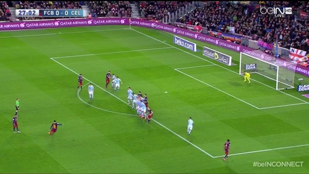 Messi's Free Kick Leaves You Speechless