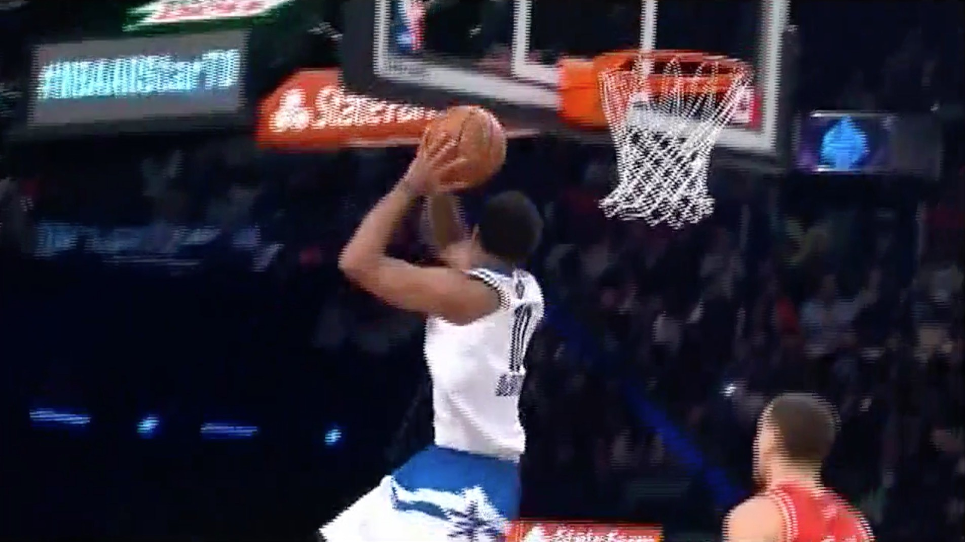 DeMar DeRozan Thrills Home Court With 360 Dunk