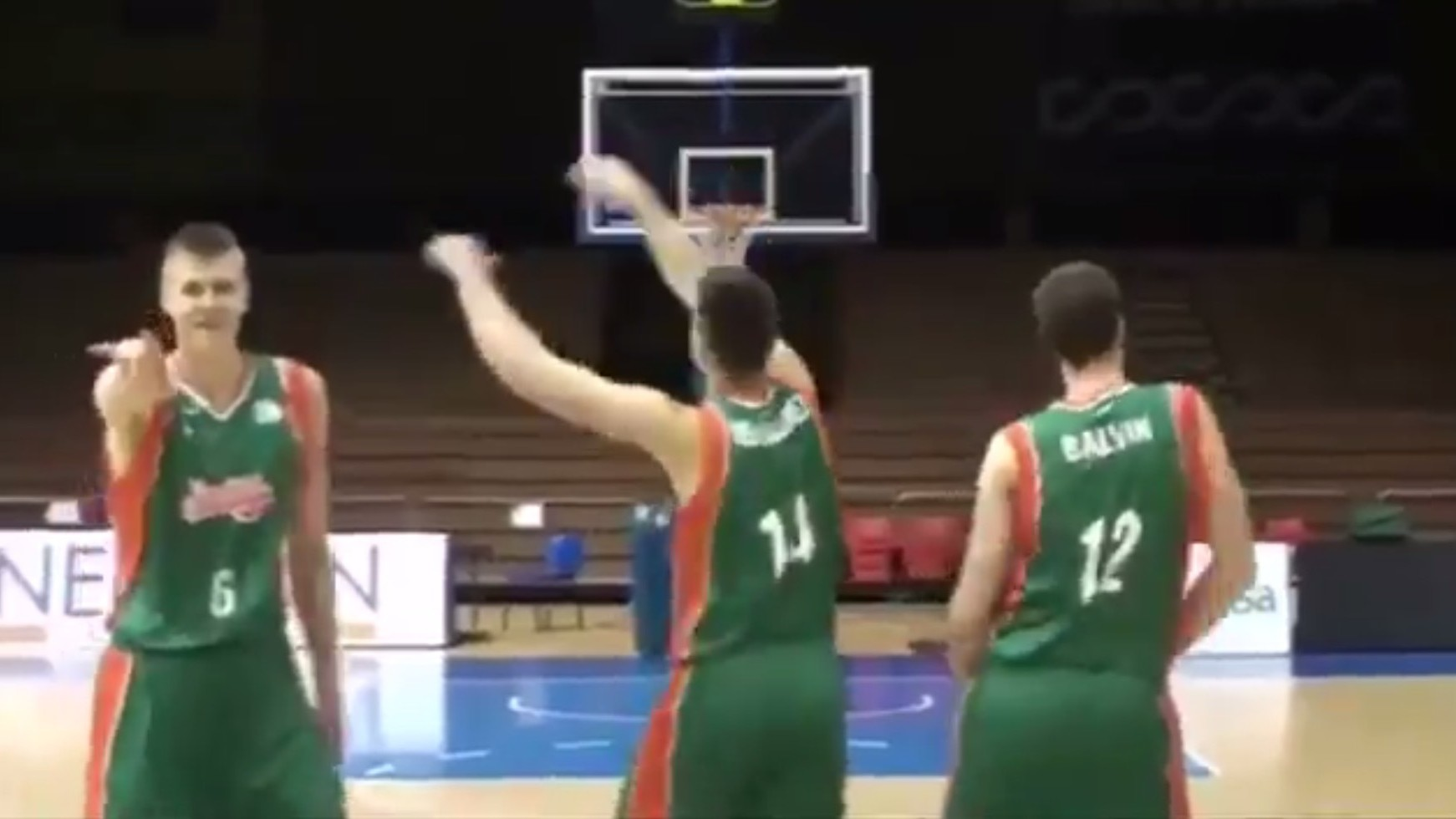 Throwback Kristaps Porzingis Dances to 'What Is Love,' Delights Everyone