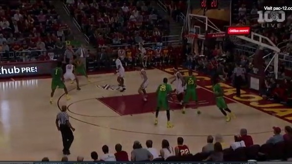 The Lights Went Out on the Oregon at USC Game