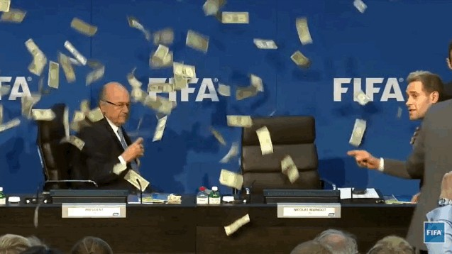 FIFA Admits World Cups Awarded Based on Bribes, Wants Money Back