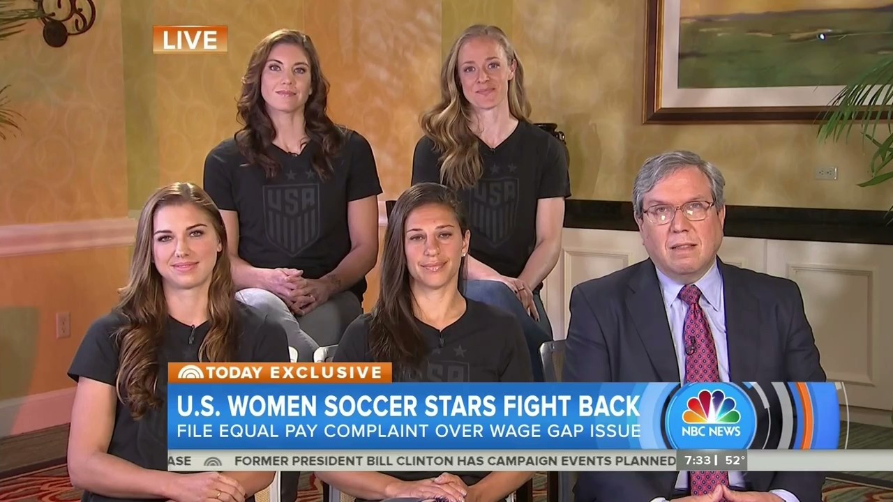 USWNT Members File Federal Complaint Alleging Wage Discrimination