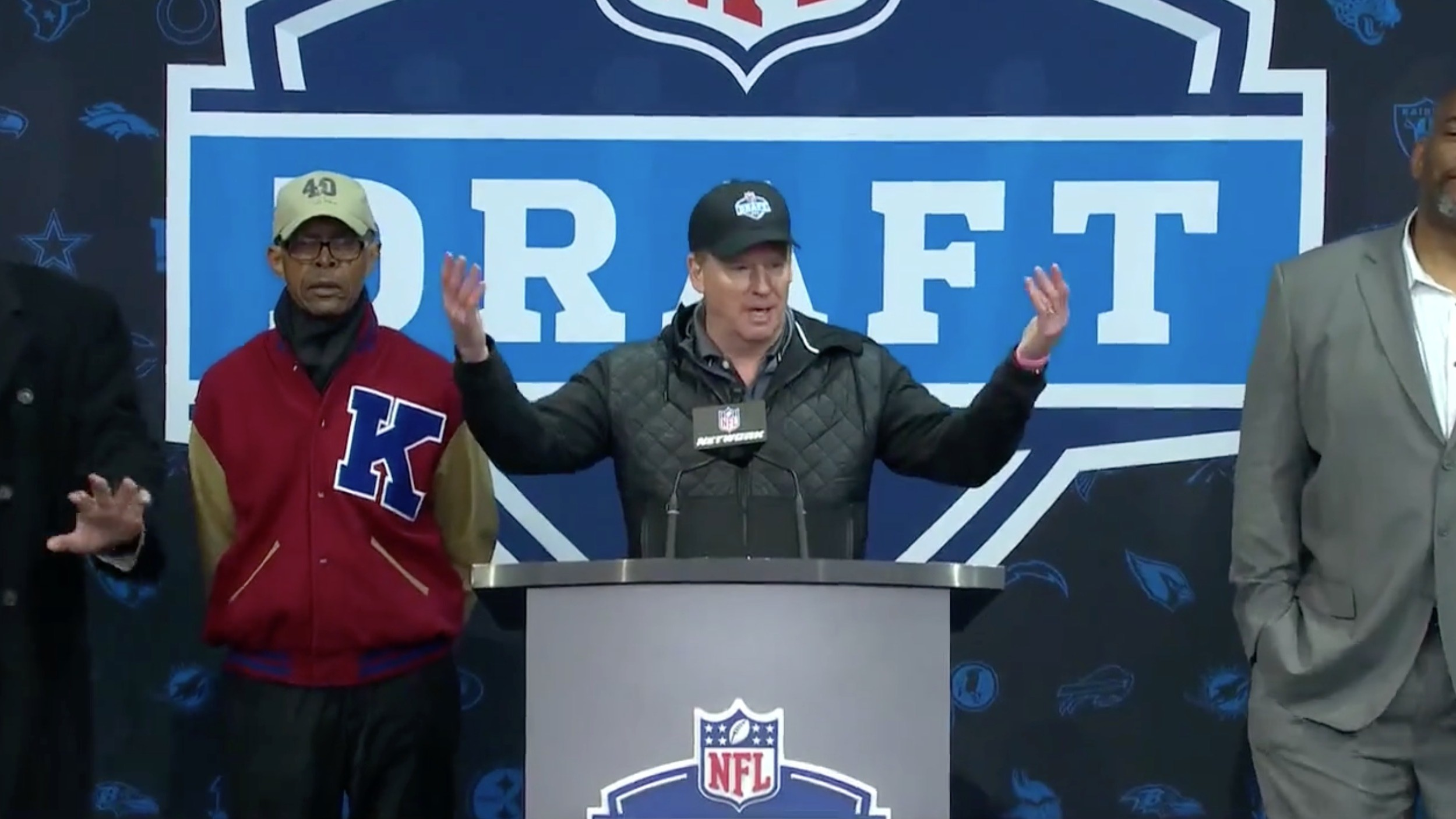 "Roger Goodell Says ""Bring it On"" When Booed, Reaches Full-On Super Villain Mode"