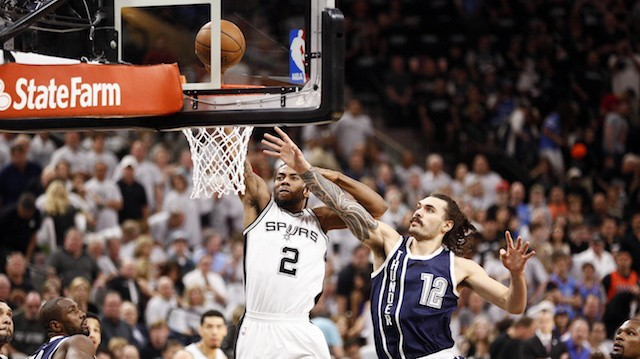 Kawhi Leonard's Vicious Opening Dunk is a Metaphor for How Much The Spurs are Destroying the Thunder