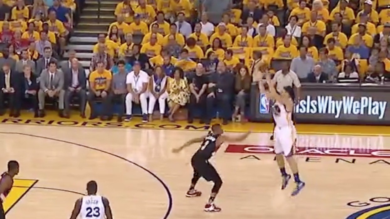 Klay Catches Fire Early With Deep Three