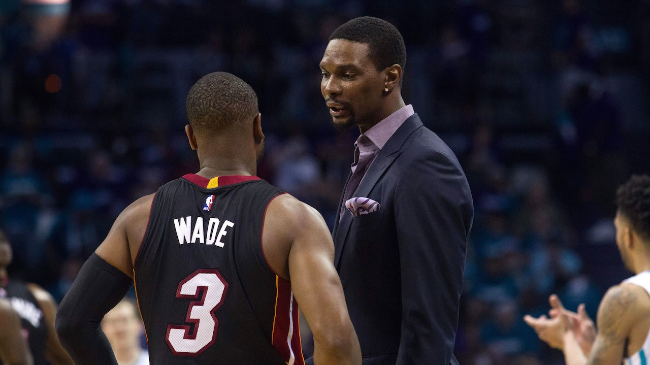 Report: Chris Bosh Is Trying to Get the Union to Force the Heat to Let Him Play