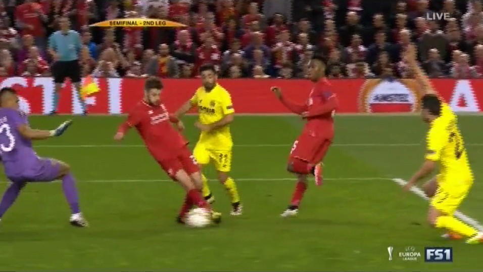 Adam Lallana Sneaks Goal in With Rubber-Ankle Touch